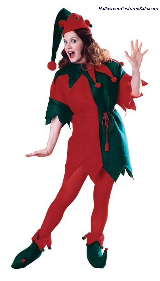 ELFS TUNIC WOMENS ADULT COSTUME