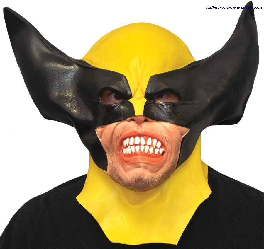 WOLVERINE ADULT LATEX MASK
