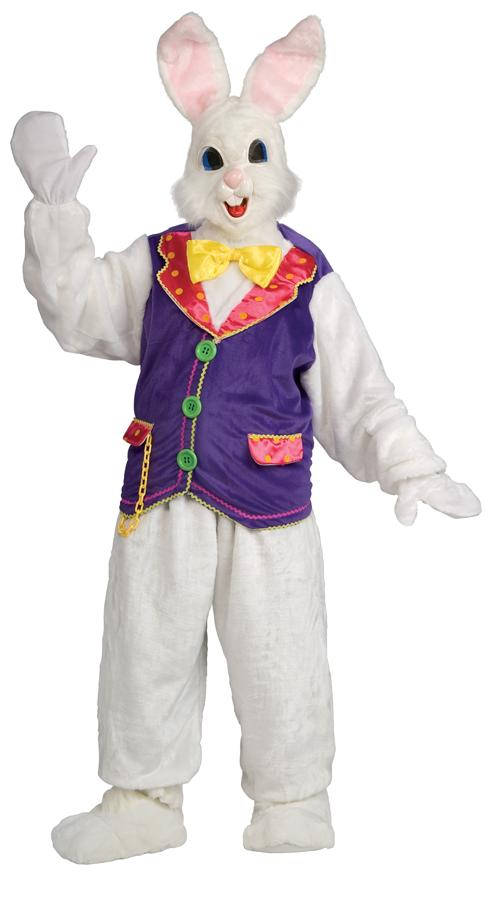 BUNNY DELUXE WITH VEST ADULT COSTUME