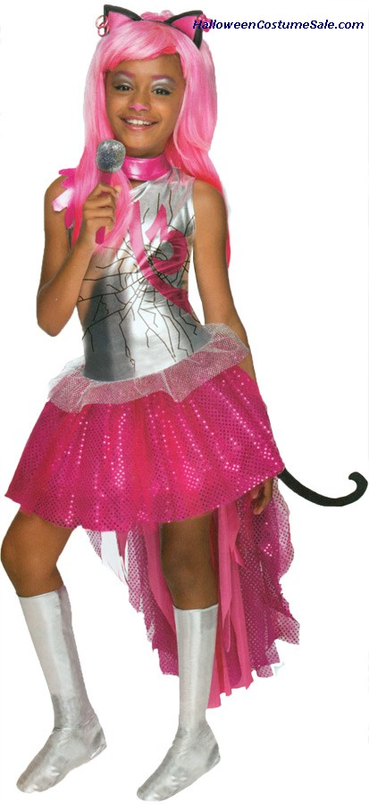 MONSTER HIGH CATTY NOIR CHILD COSTUME