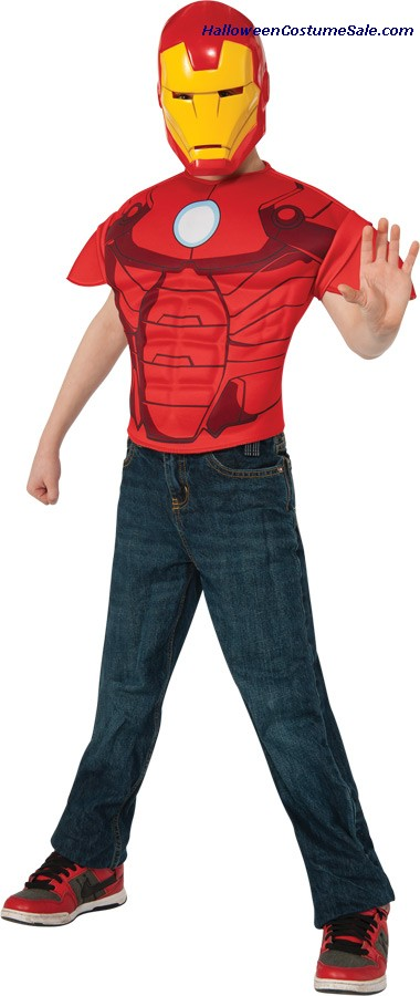 IRON MAN TOP CHILD COSTUME