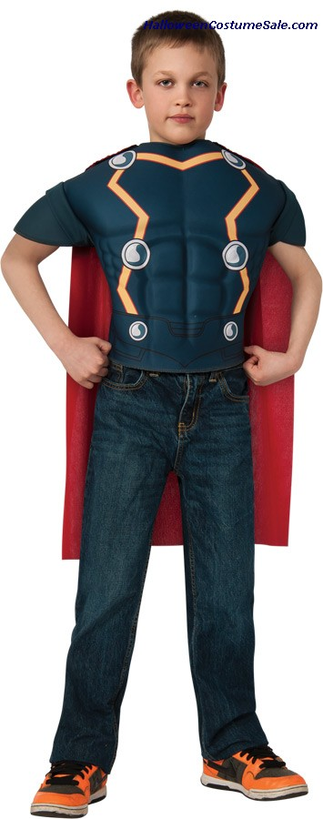 THOR TOP CHILD COSTUME