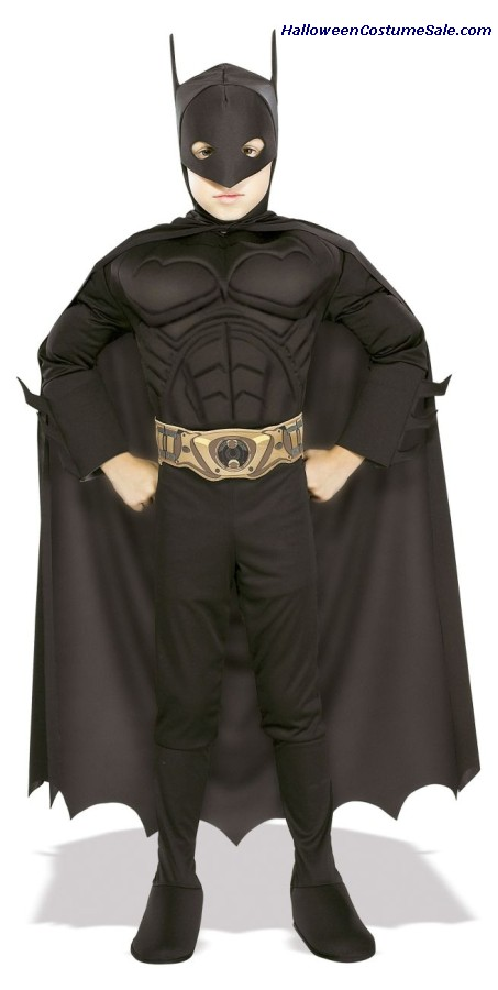 Batman Deluxe Muscle, Child Costume