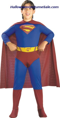 SUPERMAN RETURNS CHILD COSTUME