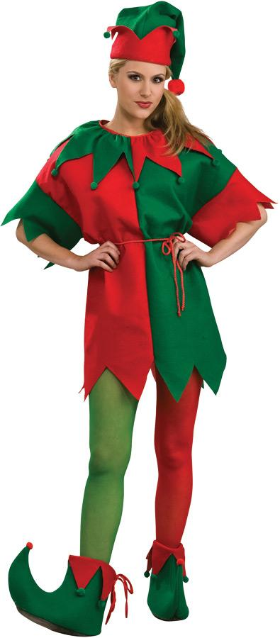 ELF TIGHTS WOMENS ADULT COSTUME