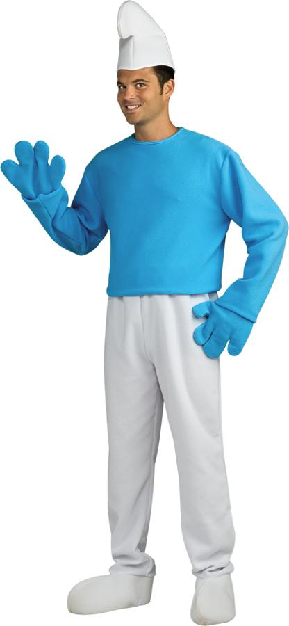 SMURFS DELUXE  SMURF ADULT COSTUME