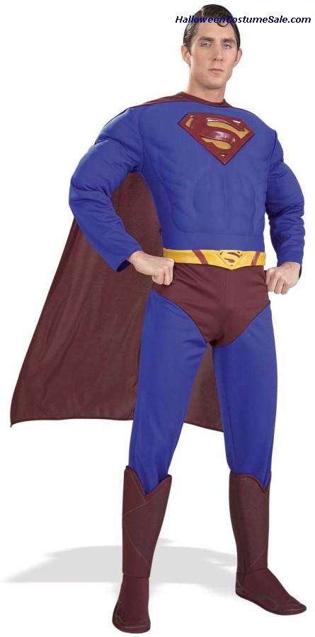 SUPERMAN DELUXE COSTUME