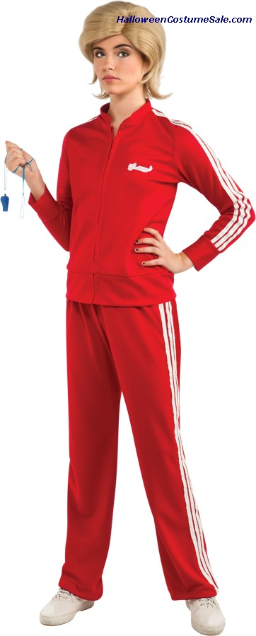 GLEE RED TRACK SUIT (SUE) ADULT COSTUME