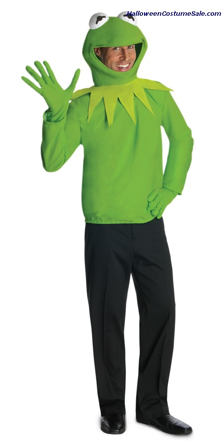 KERMIT ADULT COSTUME