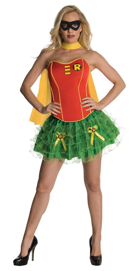 ROBIN FLIRTY ADULT COSTUME