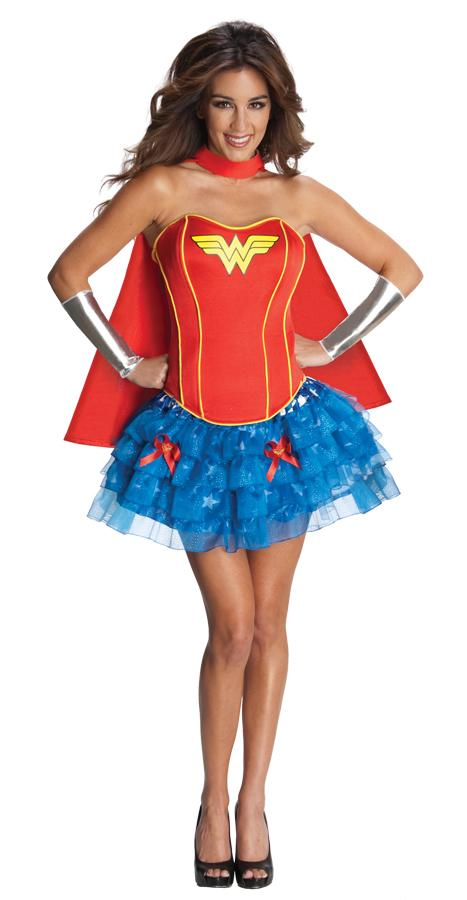 WONDER WOMAN FLIRTY ADULT COSTUME