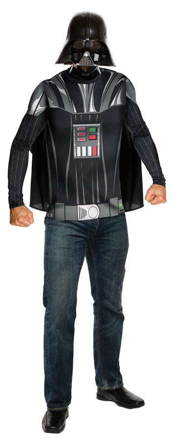 DARTH VADER TOP CAPE MASK ADULT COSTUME