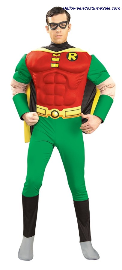 ROBIN MUSCLE ADULT COSTUME