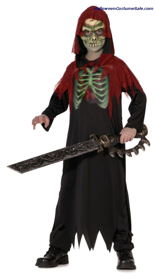 CRIMSON GHOUL LENTICULAR CHILD COSTUME