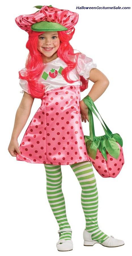 STRAWBERRY SHORTCAKE DELUXE CHILD/TODDLER COSTUME
