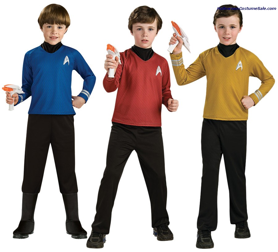 STAR TREK DELUXE CHILD COSTUME