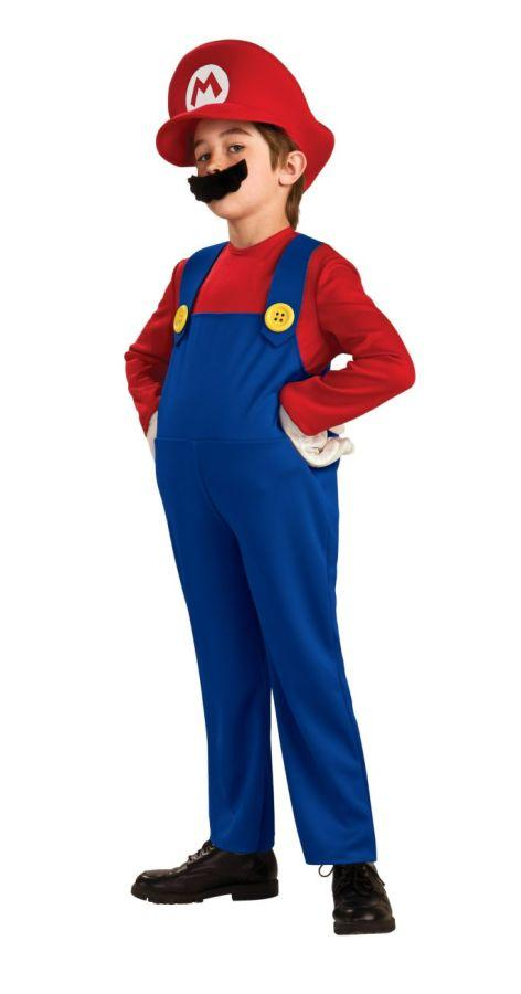 SUPER MARIO CHILD DELUXE COSTUME
