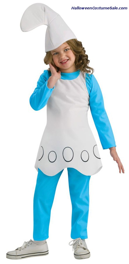 SMURFETTE CHILD COSTUME