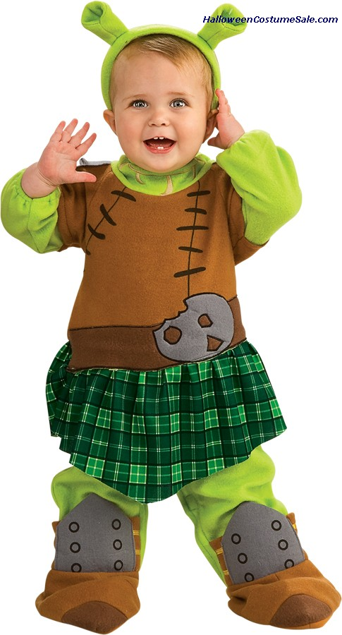 SHREK 4 FIONA WARRIOR INFANT/TODDLER COSTUME