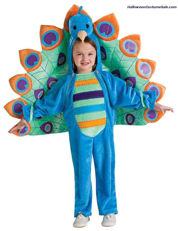 PEACOCK INFANT/TODDLER COSTUME