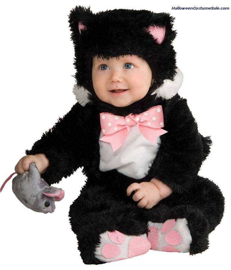 INKY BLACK KITTY INFANT COSTUME