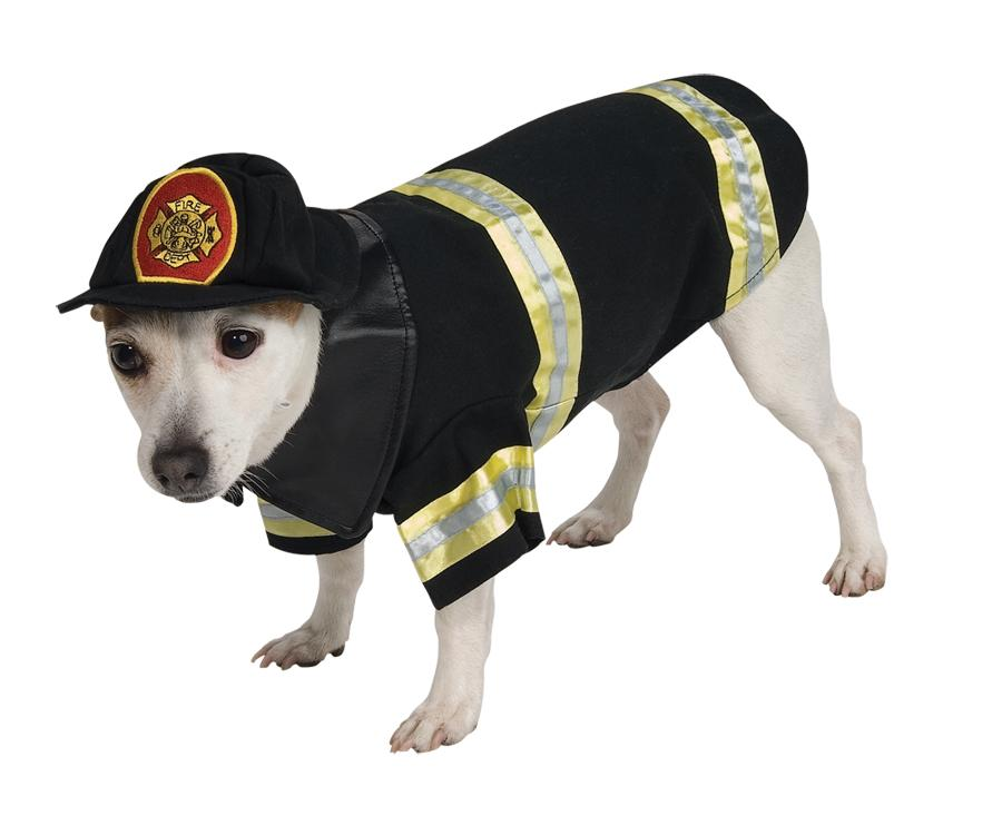 PET COSTUME FIREFIGHTER