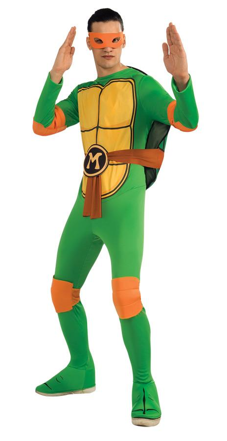 TMNT MICHELANGELO ADULT COSTUME