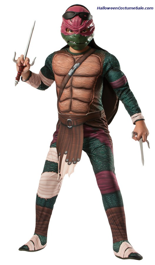 MUTANT RAPHAEL CHILD COSTUME