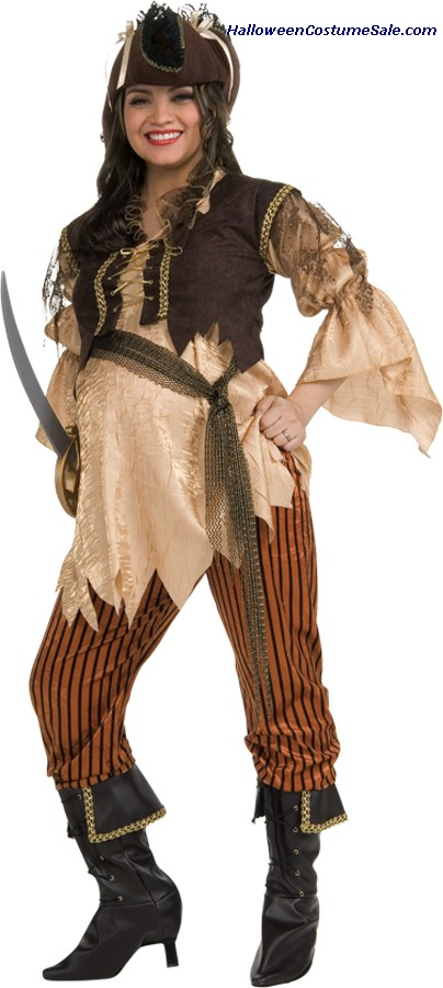 MATERNITY PIRATE QUEEN ADULT COSTUME