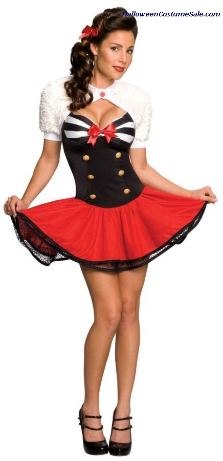 NAVAL PINUP ADULT COSTUME