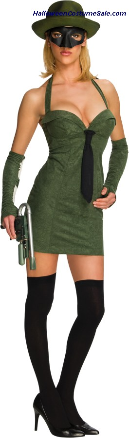 GREEN HORNET SEXY ADULT COSTUME