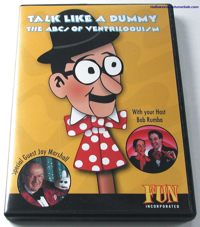 DVD VENTRILOQUISM LIKE A DUMMY