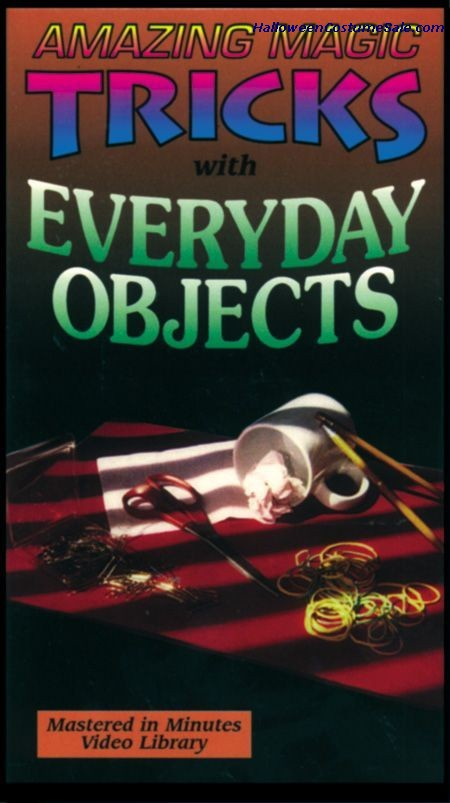 Vhs Amazing Magic W/ Everyday Objects