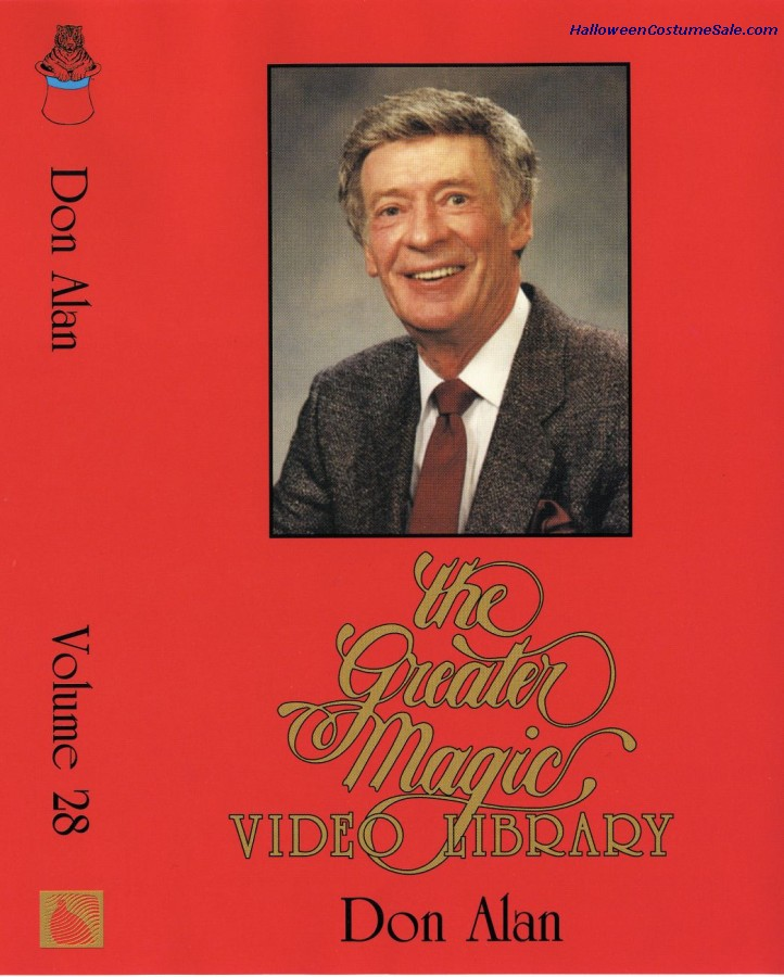 Dvd The Magic Of Don Alan