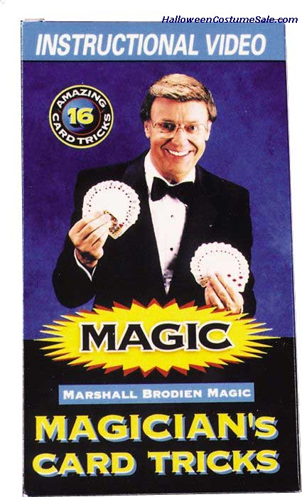 MAGICIANS CARD TRICKS VIDEO