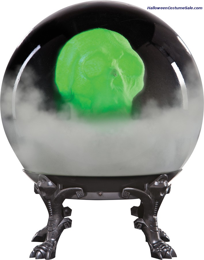 CRYSTAL BALL WITH PHANTOM SKULL-B