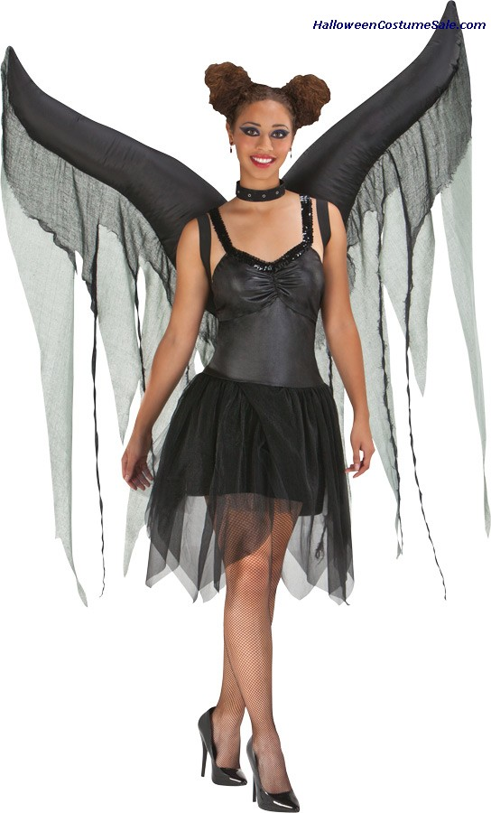 NIGHT FAIRY INFLATABLE ADULT WINGS
