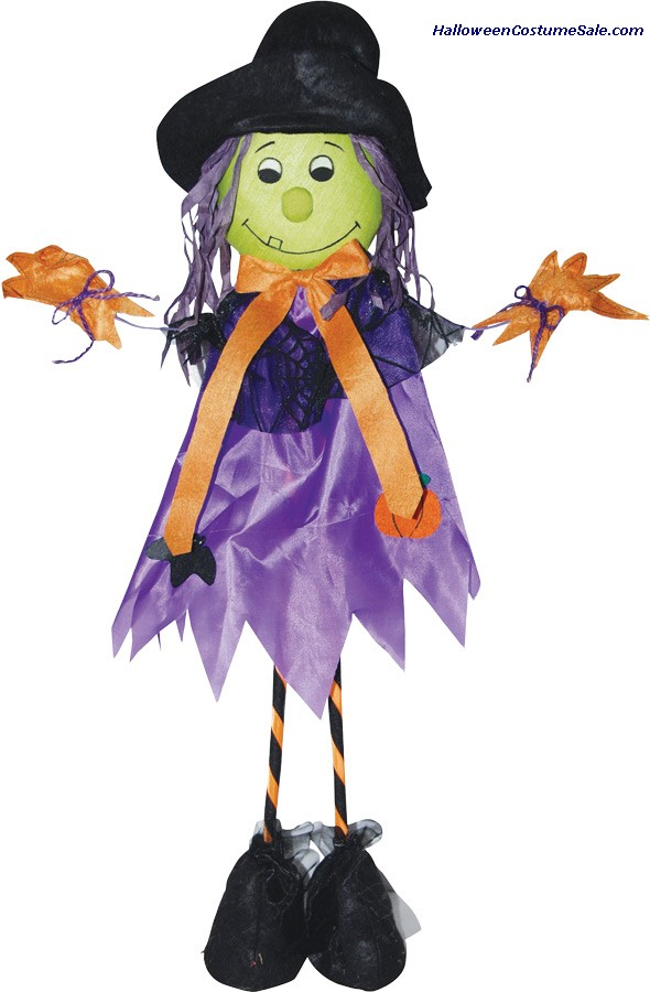 28 INCH STANDING SCARECROW WITCH PROP