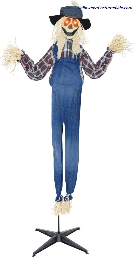 SCARECROW ANIMATED STANDING PROP