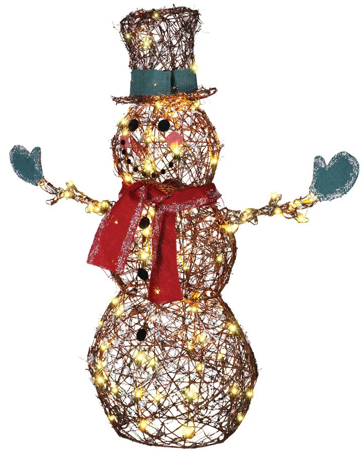 STARRY NIGHT GRAPEVINE SNOWMAN