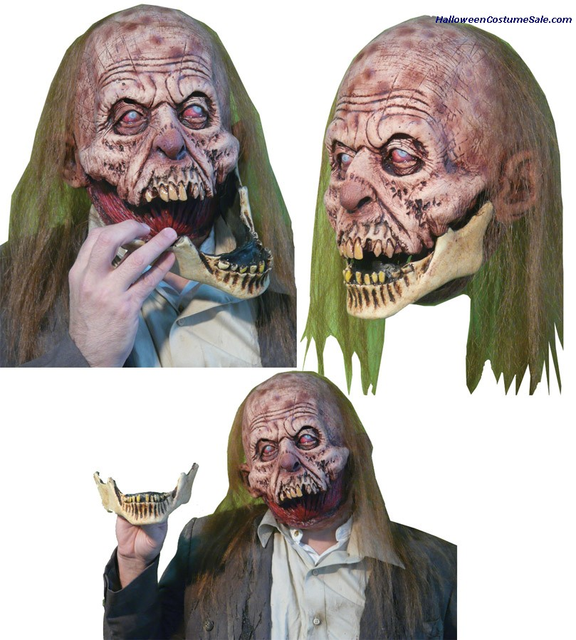 SLACK JAW LATEX MASK