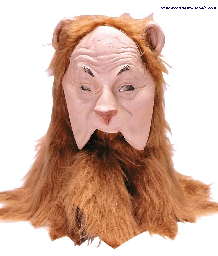 COWARDLY LION ADULT MASK