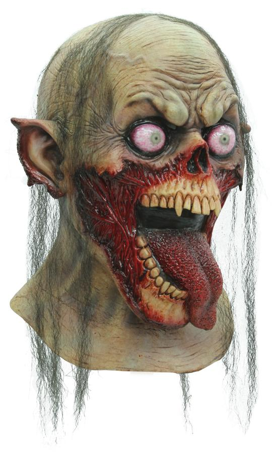 TONGUE SLASHER ADULT LATEX MASK