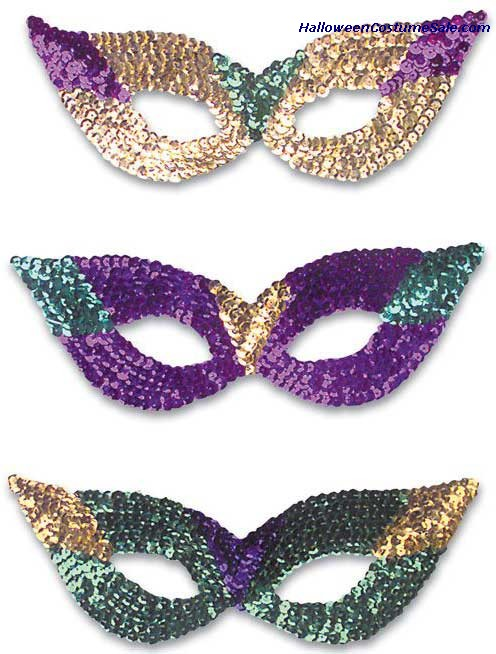 CAT EYE MASKS SEQUIN