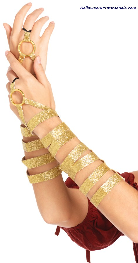 ADULT GOLD ARM WRAPS