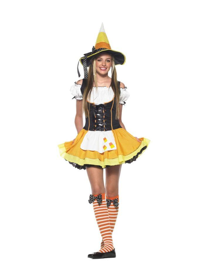 KANDY KORN WITCH TEEN COSTUME