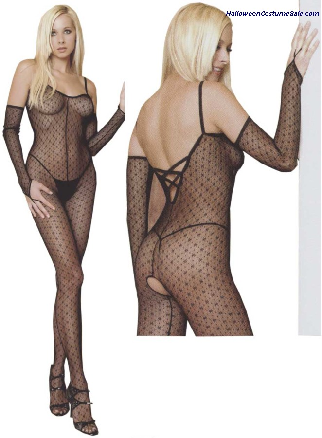 MINI DAISY LACEUP BODYSTOCKING