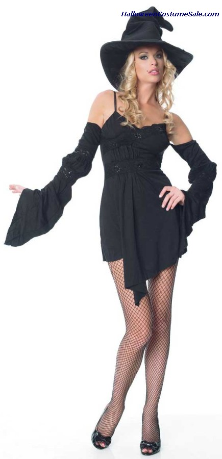 SEXY WITCH DRESS WITH HAT