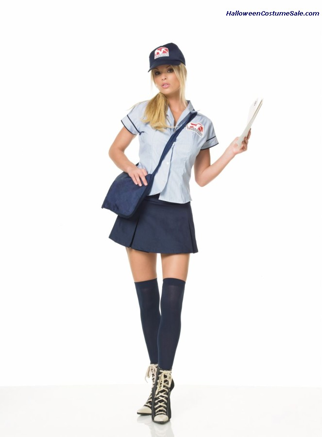 SEXY MAIL DELIVERY COSTUME