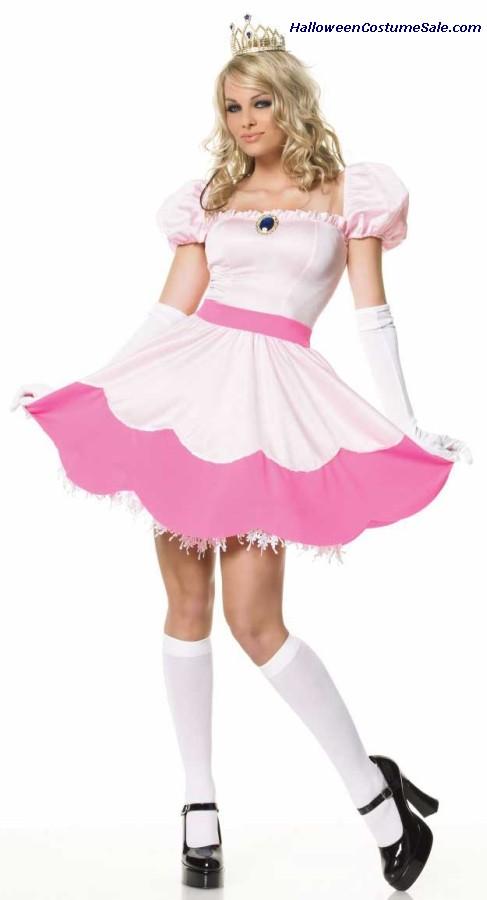princess peach costume for sale. Nintendo Princess Peach Adult